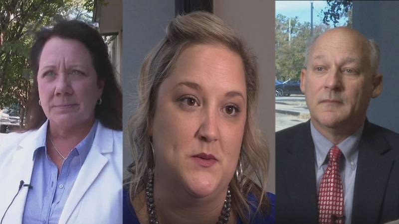 The three candidates running for  Alexandria City Council District 4. Left to Right: Catherine...