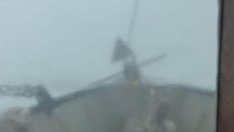 Aaron Calais' boat capsized