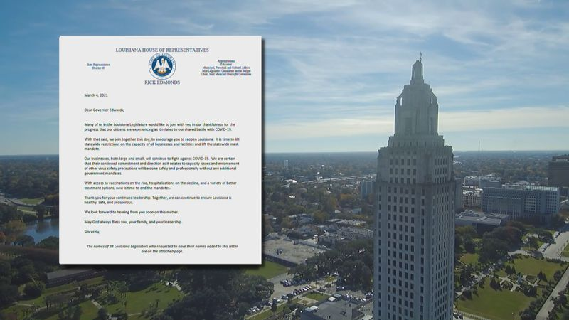 After several states began lifting their mask mandates earlier in the week, state lawmakers...