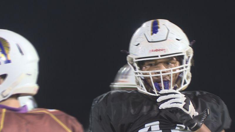 Alexandria Senior High defensive lineman, J'Mari Monette, lands his sixth Division One offer...