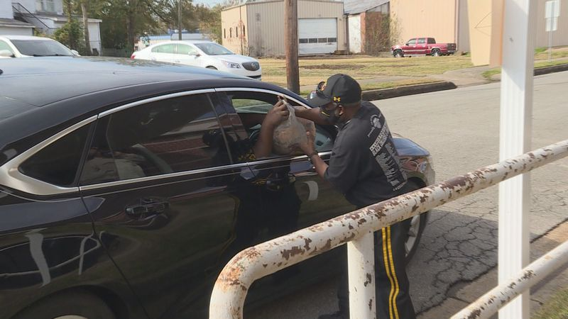 Ronnie Brooks, a deacon at Mt. Zion Missionary Baptist Church, spent his Saturday morning...