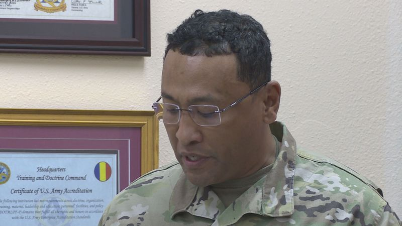 Col. Hall becomes the first African American to lead the 199th Regiment.