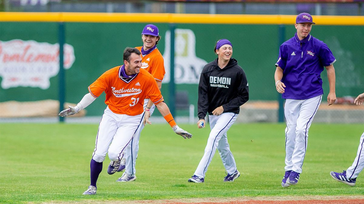 Down by one entering the ninth inning, Northwestern State put together its lone multi-run...