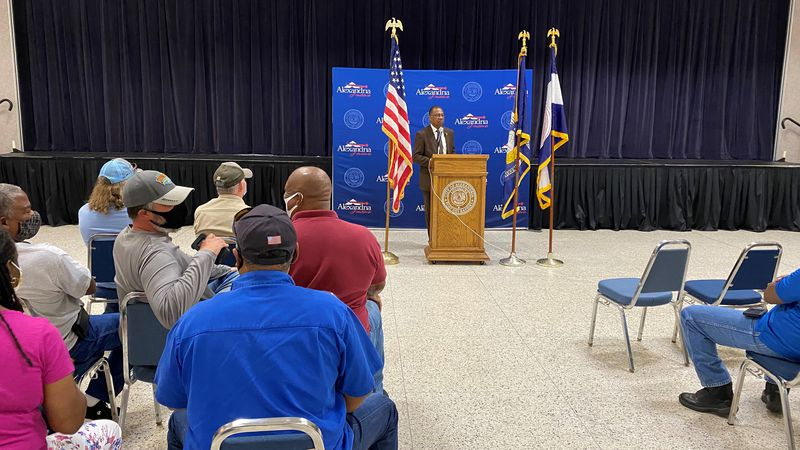 Alexandria Mayor Jeff Hall that the city council needs to put city employees and residents...