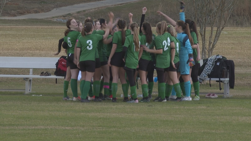The Grace Christian boys and girls soccer teams split their two games during the senior night.