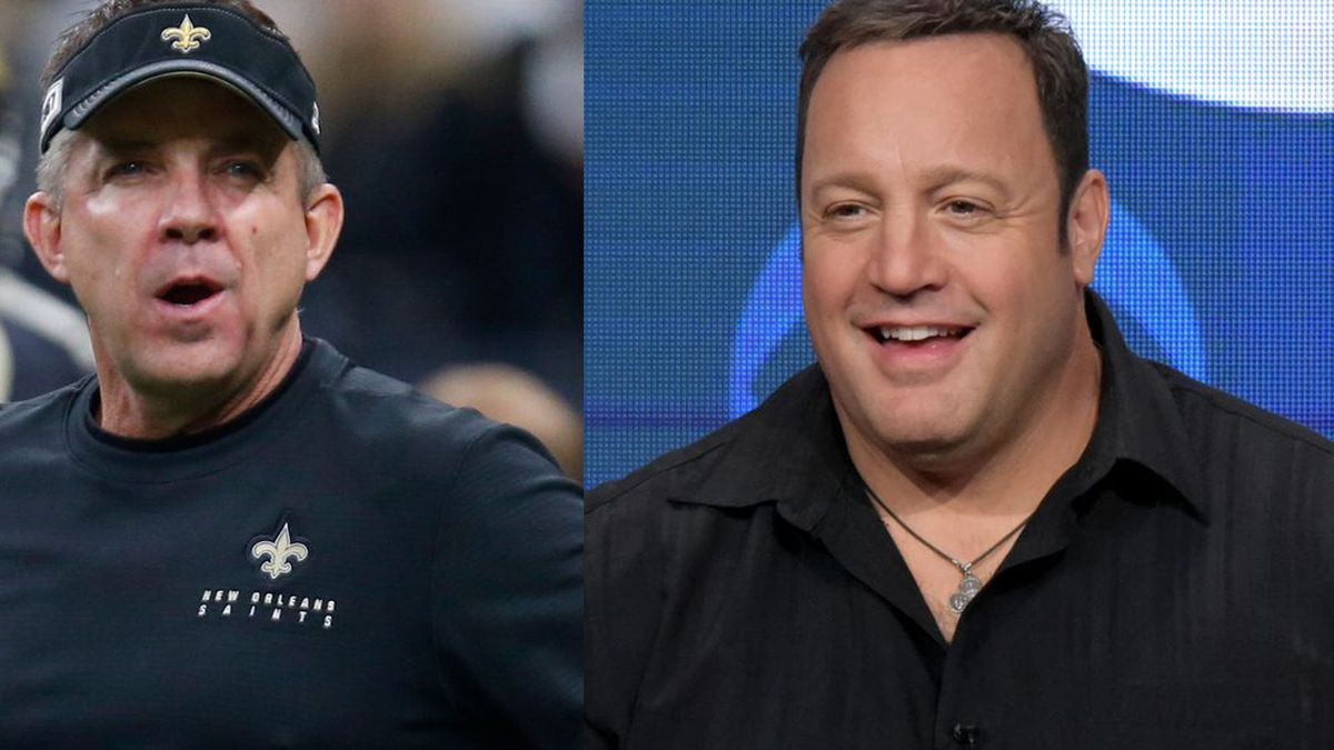Sean Payton will be played by Kevin James in an upcoming Netflix movie. No, seriously.