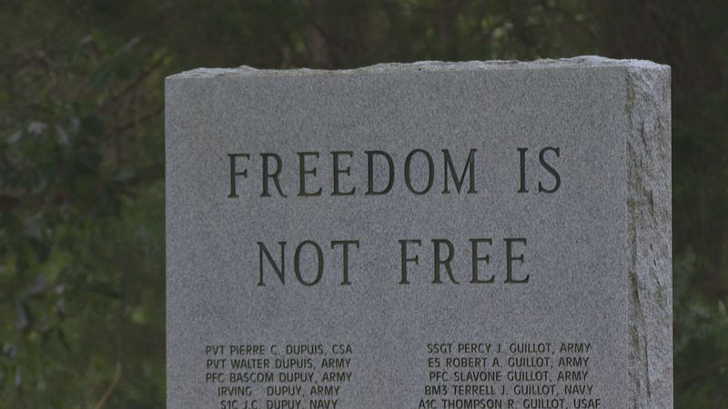 Fifth Ward Veterans Memorial honors countless veterans who paid the ultimate sacrifice.