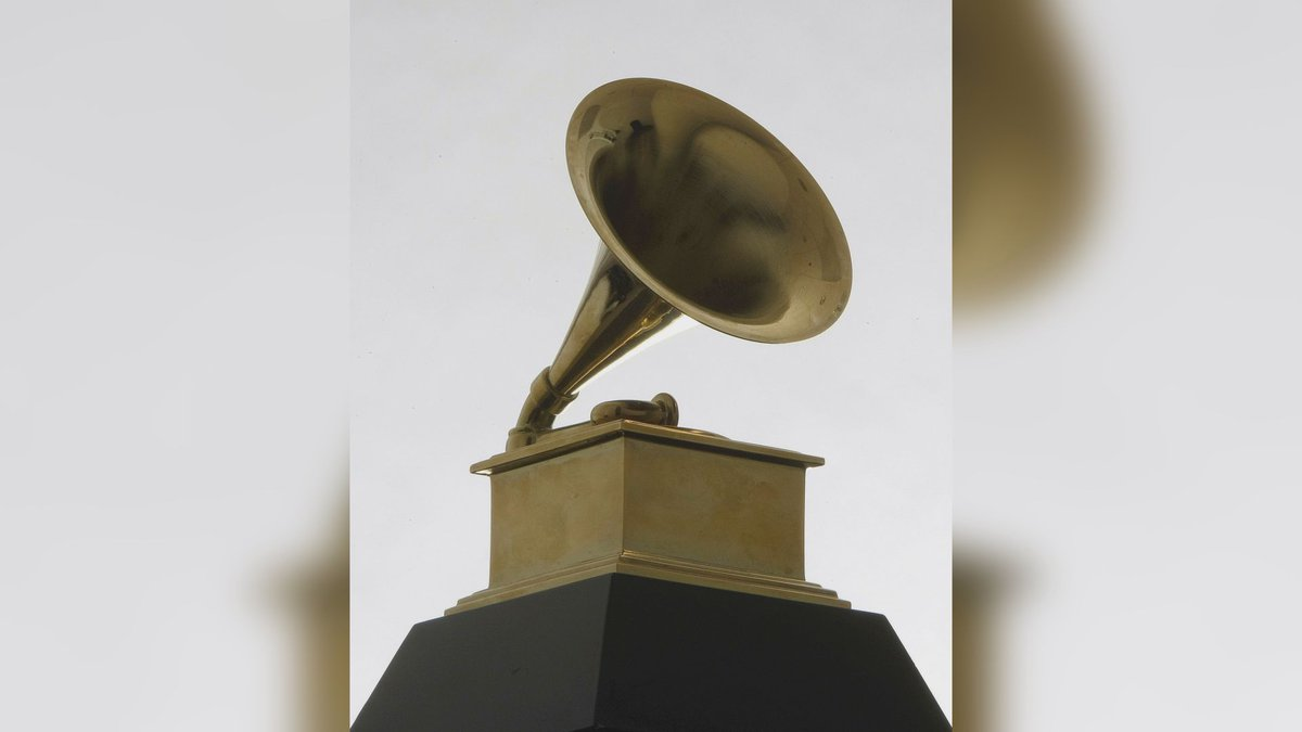 FILE - This Dec. 9, 2008 file photo shows a Grammy Award statue.