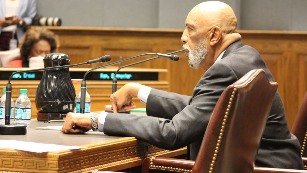 Rep. Terry Landry, D-New Iberia, testified Tuesday for his bill to abolish the death penalty. | Photo Source: Madeline Meyer / LSU Manship News Service