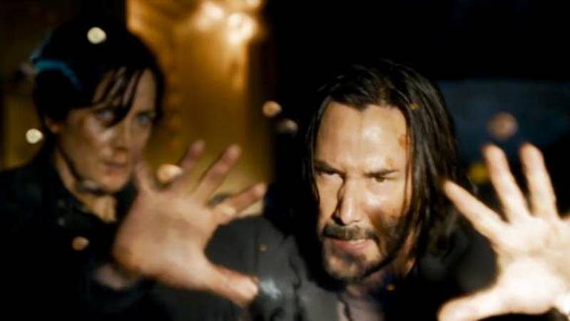 The new film reunites original stars Keanu Reeves and Carrie-Anne Moss in the iconic roles they...