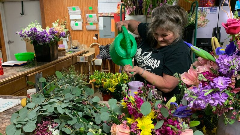 Shelia Vincent is the owner of Always Yours Flowers by Shelia in Pineville.