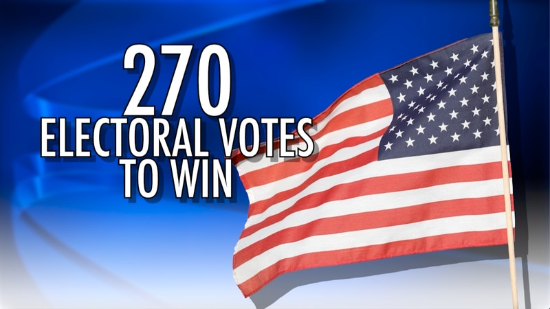 The Electoral College is written in the Constitution in Article II, Section I.