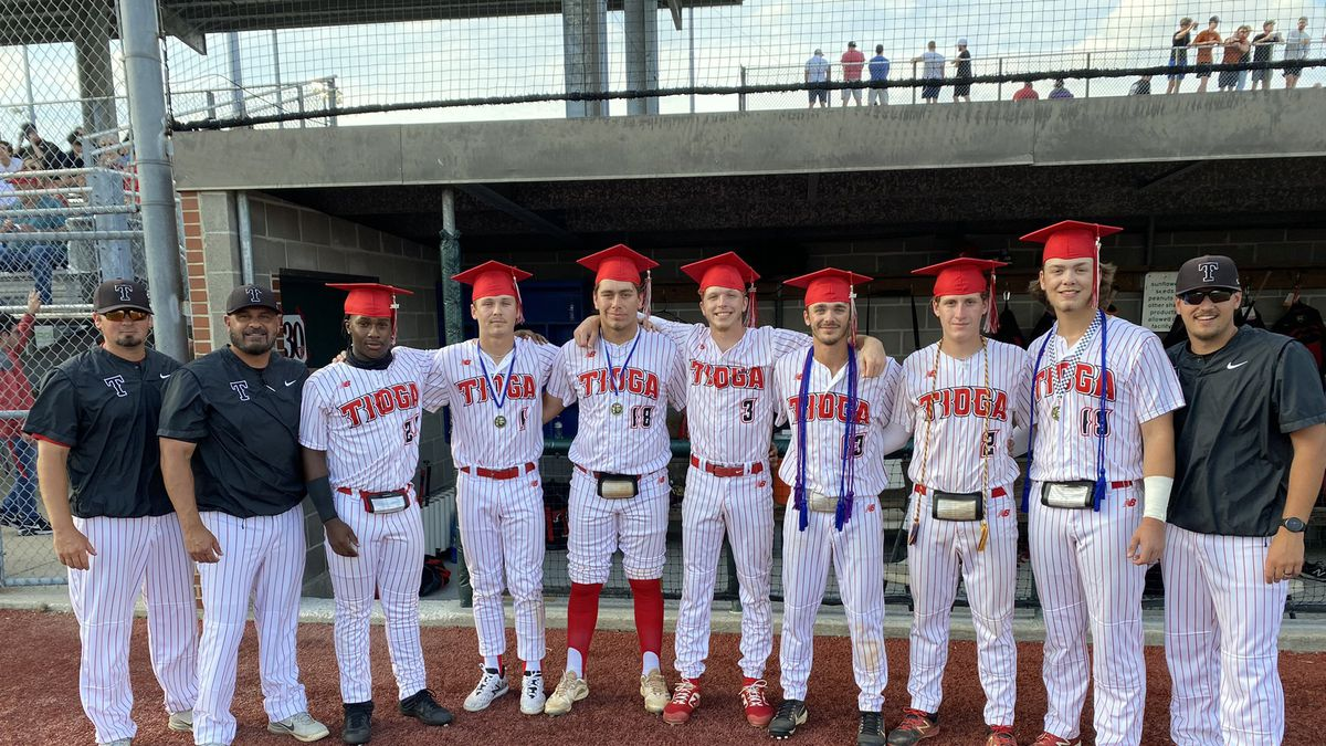 The Tioga Indians baseball team missed out on graduation because of their success on the field,...