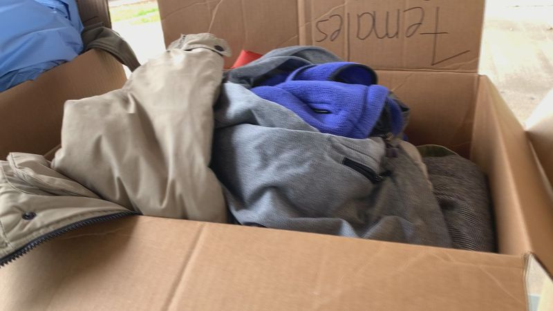Volunteers of America started their coat drive, and need the public's help to keep the homeless...