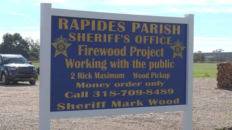The Sheriff's office converted its old pea farm on Vandenburg Drive to a wood-splitting...