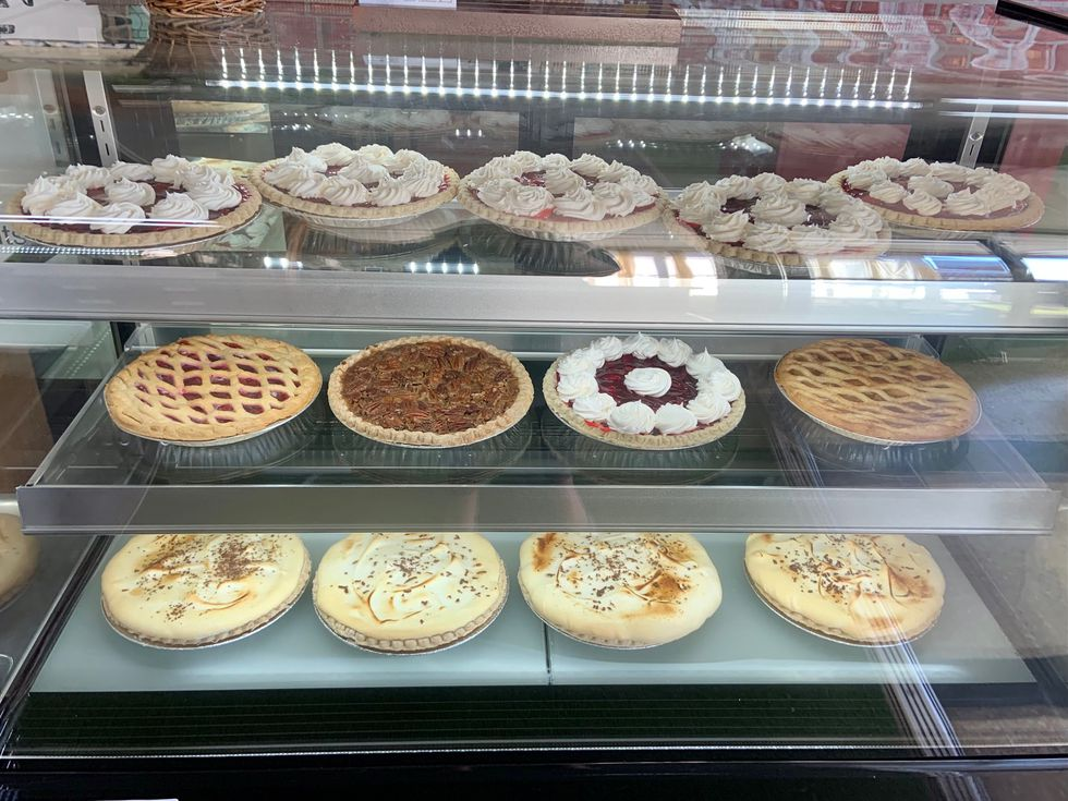 Griffin's Antiques and Main Street Market sells homemade pies and cupcakes.