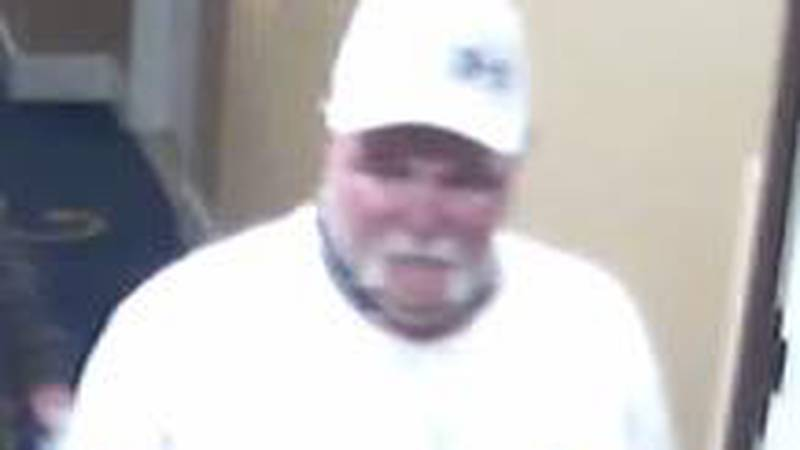 The man pictured above is accused of stealing someone's coat from the Margaritaville Casino in...