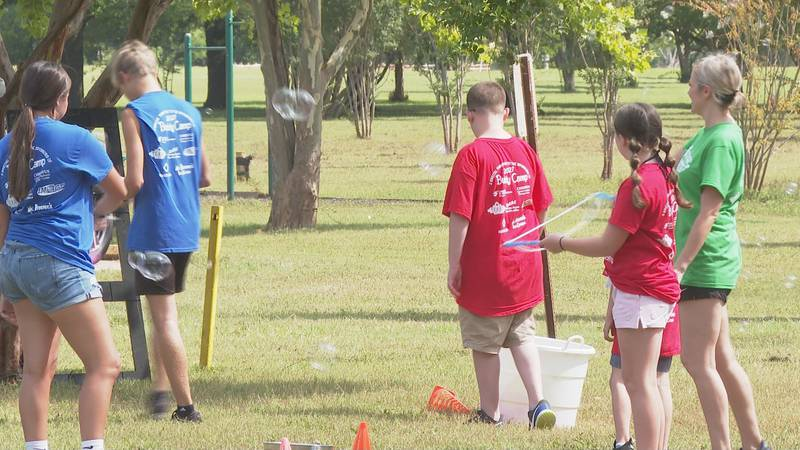 Thursday was a special day in Central Louisiana as the annual Buddy Camp was held for kids with...