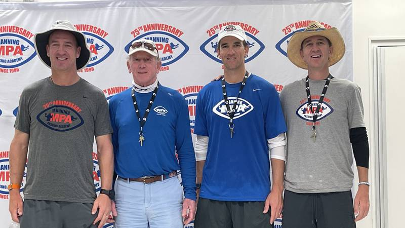 Peyton, Archie, Eli, and Cooper celebrate 25 years of the MPA. (Source: Garland Gillen)