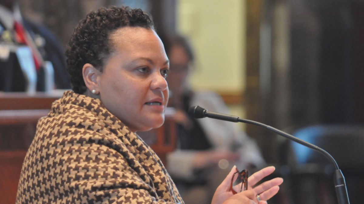 Sen. Karen Carter Peterson, D-New Orleans, questioned riverboat casino executives on why they...