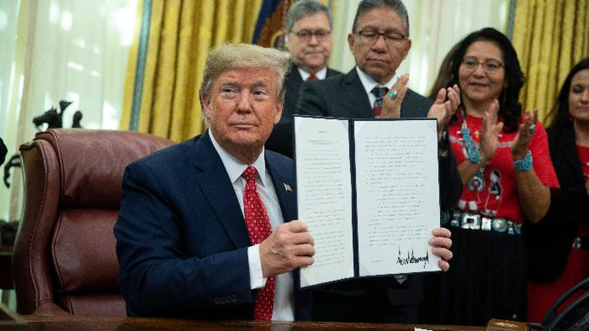 Both South American nations were among a group of U.S. allies that Trump had exempted from steel and aluminum tariffs in March 2018. (Source: AP Photo/ Evan Vucci/AP)