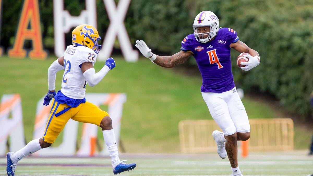 Receiver Javon Antonio totaled 103 receiving yards in a 21-7 loss to McNeese on Saturday.
