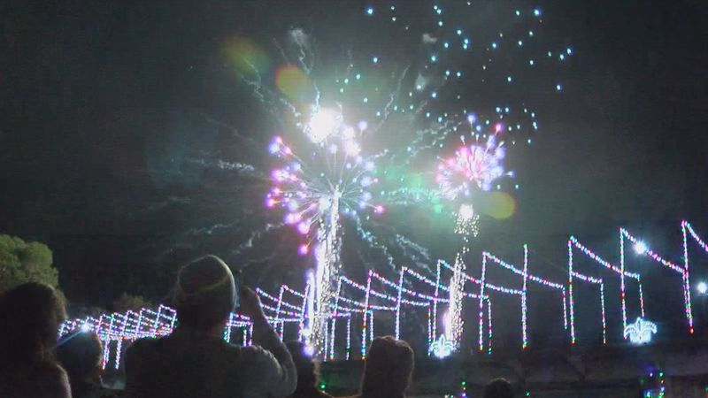 Natchitoches Fireworks