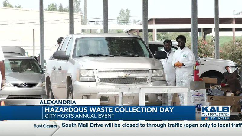 COA hosts annual Household Hazardous Waste Collection Day.