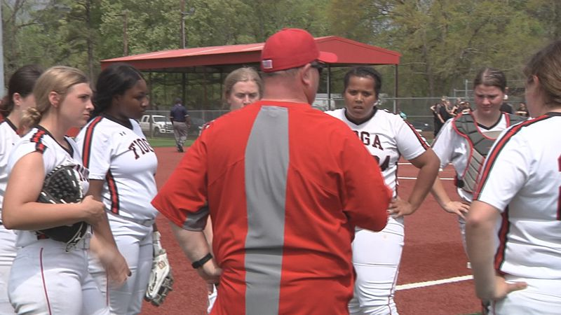 The Tioga Indians found themselves down 4-0 but put together runs in the fifth and sixth...