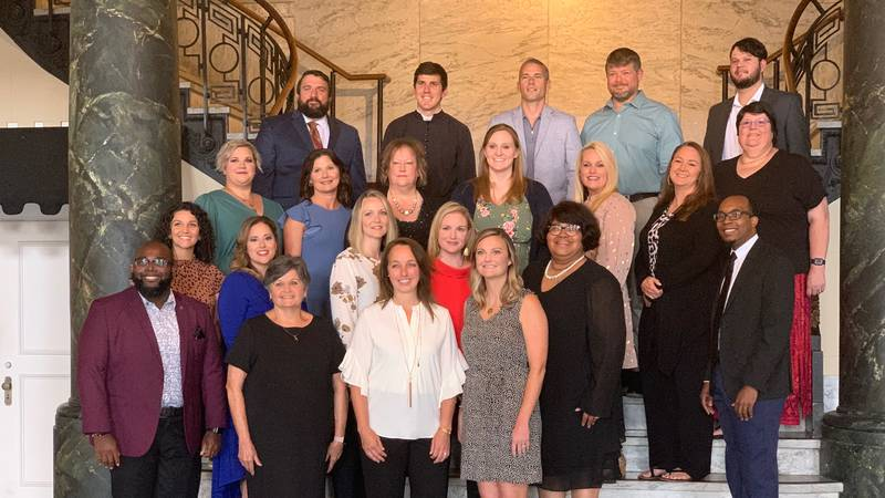 The weekly winners of the Golden Apple Award were treated to a banquet on Tuesday night.