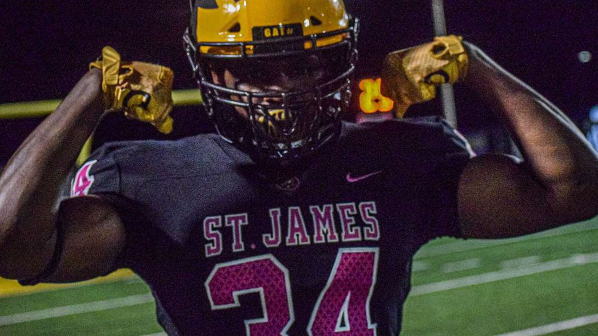 Saivion Jones is the 12th commit for LSU's 2021 class. (Source: Saivion Jones)