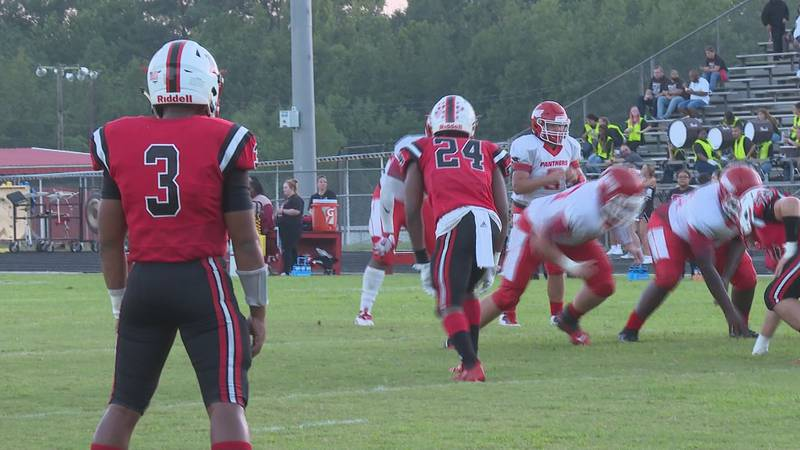 Pickering's game against North DeSoto canceled.