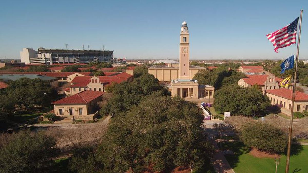 LSU campus in Baton Rouge, La.