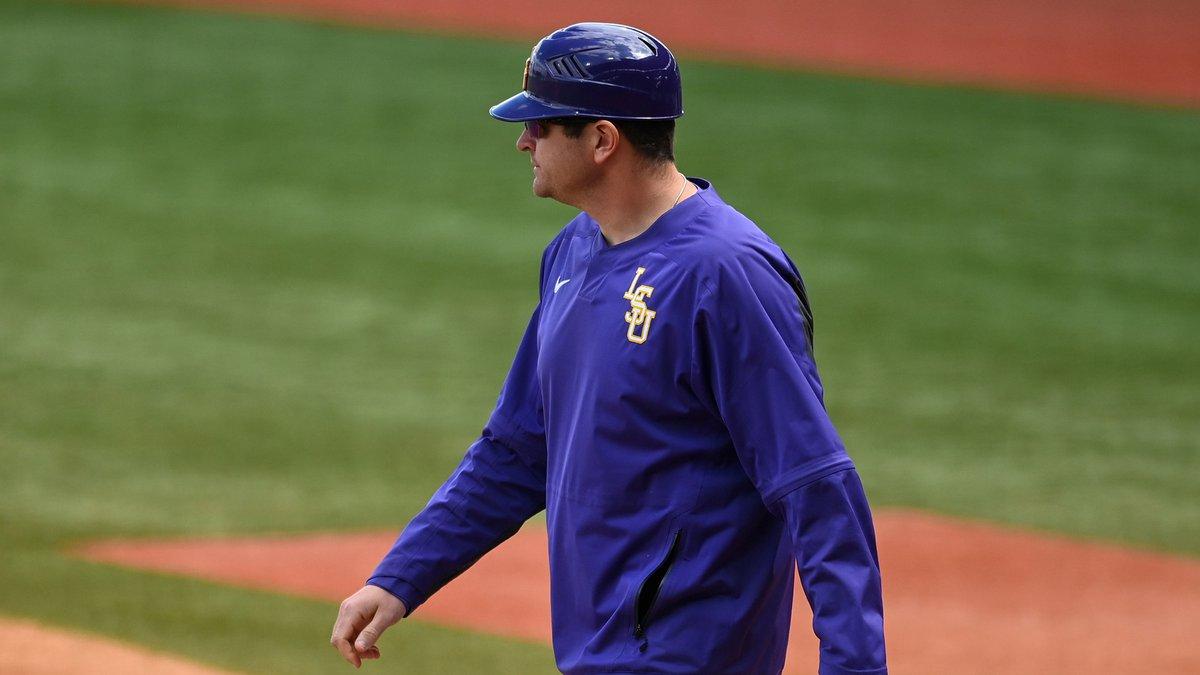 LSU baseball assistant coach/recruiting coordinator Nolan Cain
