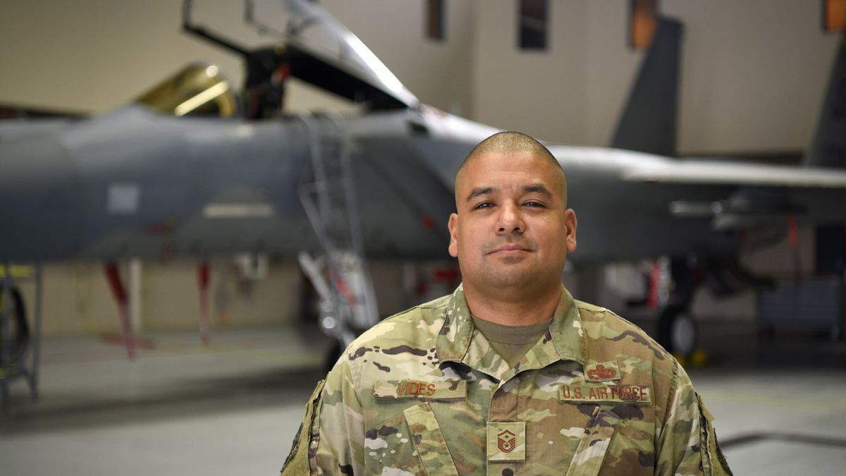 Master Sgt. Marvin Vides, 159th Fighter Wing Staff first sergeant and flight control...