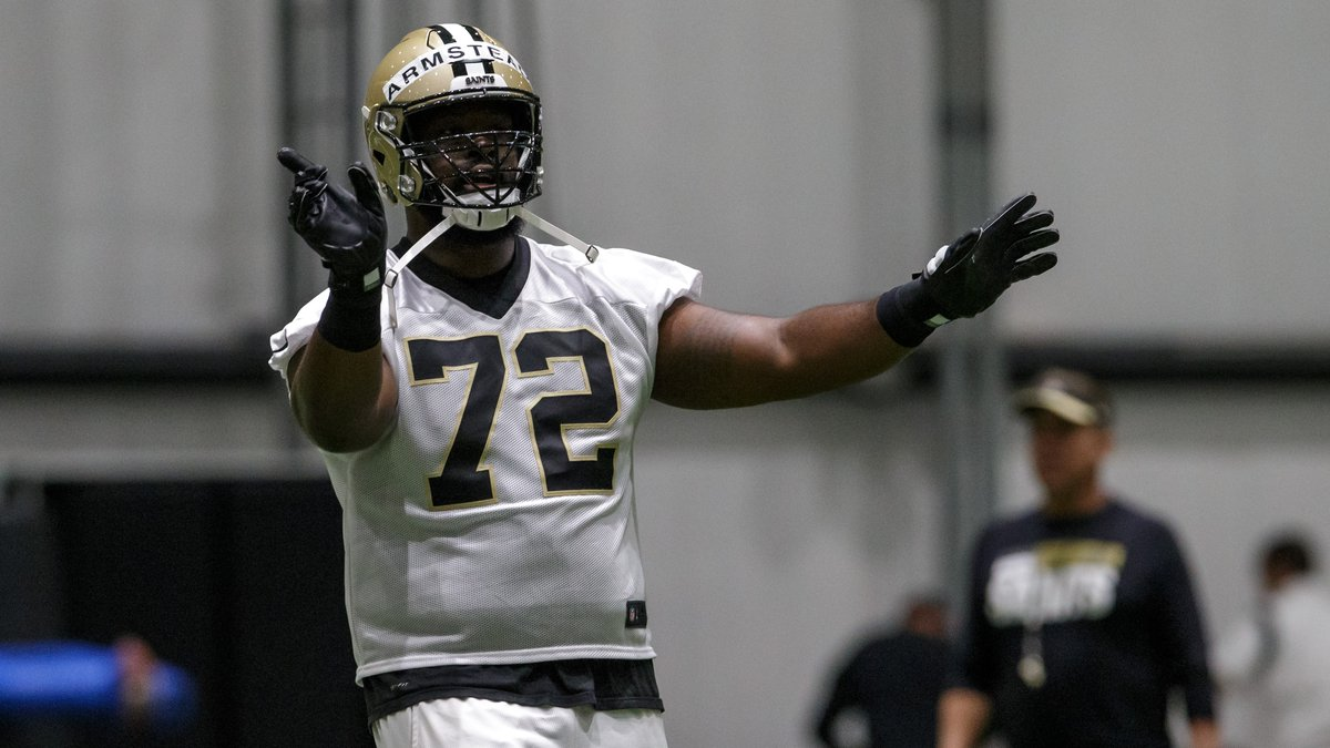 Report: Armstead to miss several weeks with an elbow injury. (Staff photo by David Grunfeld,...