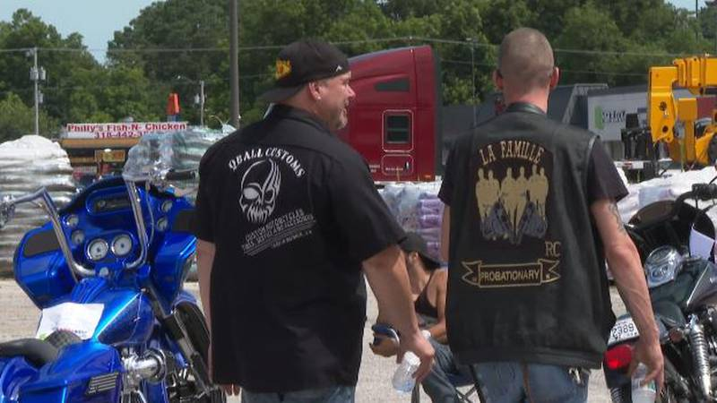 The Cenla Juvenile Officers Association and Sutherlands Home Base partnered for a motorcycle...