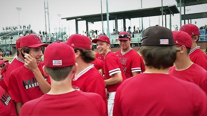 The Tioga Indians blew out Neville to head to state championship game on May 13, 2021.