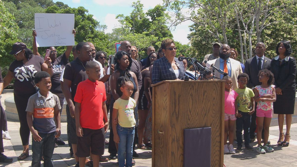 Rep. C. Denise Marcelle, D-Baton Rouge, proposed a bill on Tuesday to require grand juries in cases of shootings by police officers.   Photo Credit: Devon Sanders / LSU Manship School News Service