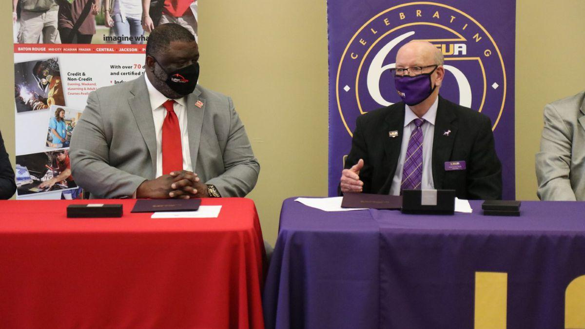 Chancellor Dr. Willie E Smith & LSUA Chancellor Dr. Paul Coreil