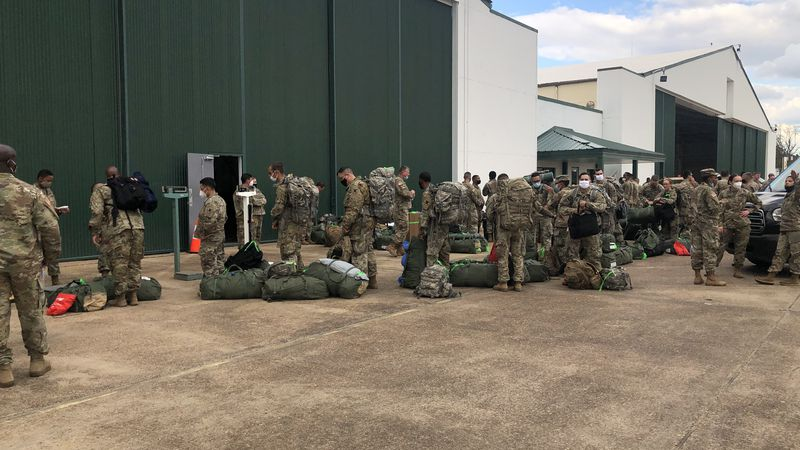 On the day before Veterans Day, the Louisiana National Guard held several ceremonies around the...