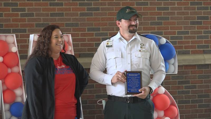 In honor of 'National EMS Week,' Rapides Regional Medical Center recognized a few EMS workers...
