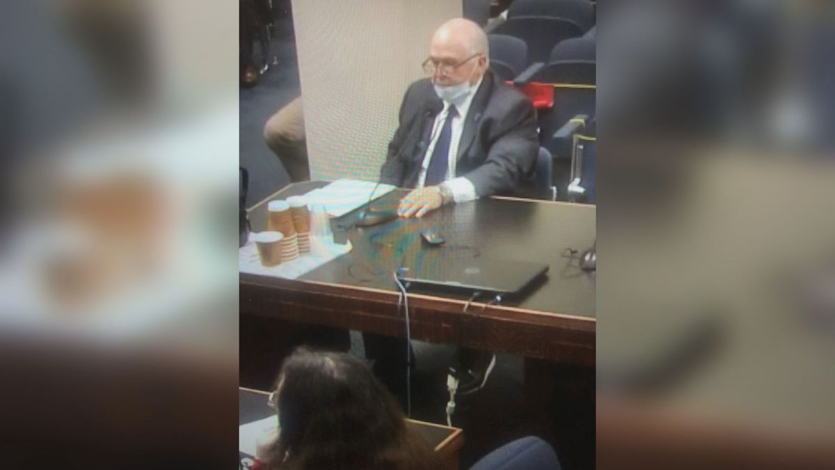 Sen. Bodi White, R-Baton Rouge, discussed his bill Tuesday to increase penalties for felons possessing guns. | Source: Paige Daniel / LSU Manship School News Service