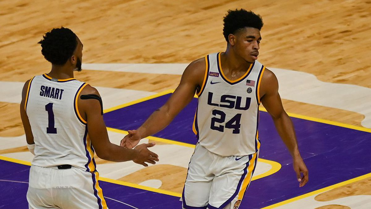 The LSU men's basketball team got a huge win to add to their resume as they upset the No. 16...