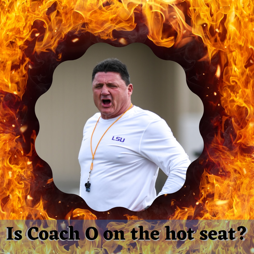 An article from a national sports media outlet claims LSU's Ed Orgeron is one of nine college...