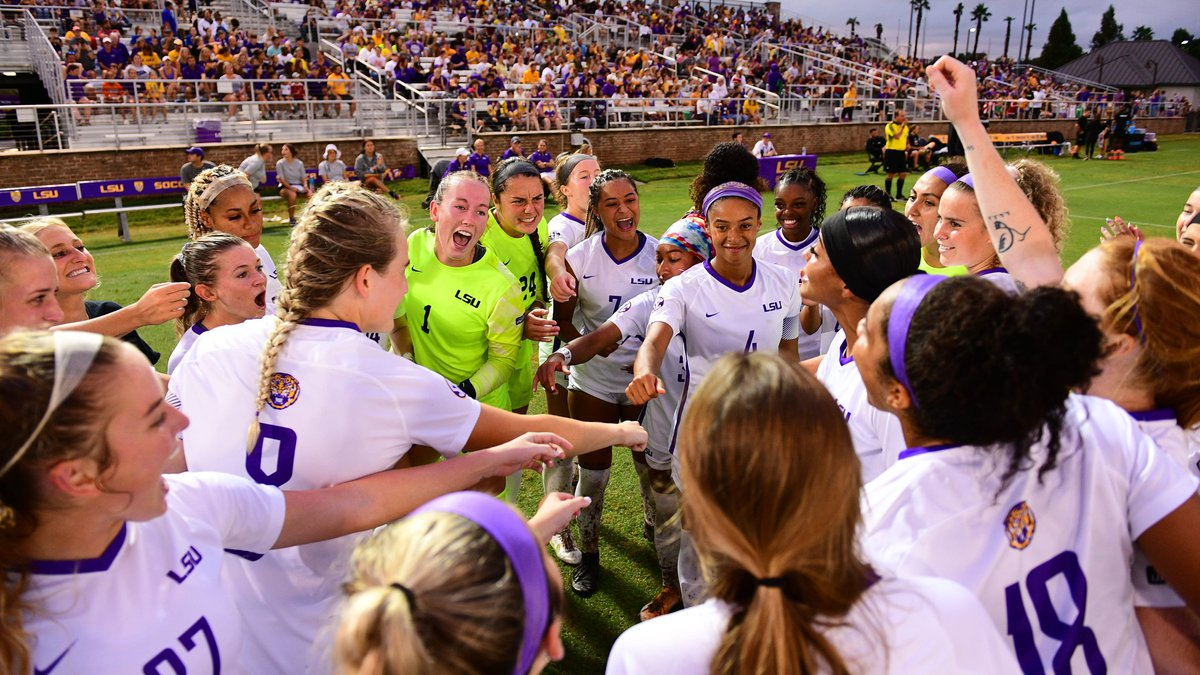 LSU soccer continues to climb in the polls.