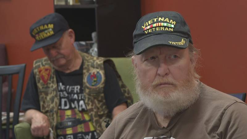 The community honors Vietnam veterans at As the Crow Flies in Pineville.