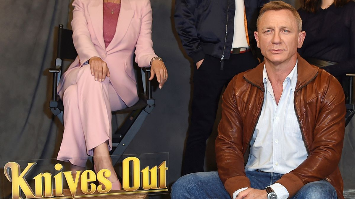 """FILE - Daniel Craig attends the """"Knives Out"""" photo call on Nov. 15, 2019, in Los Angeles."""