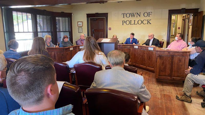 The Town of Pollock recently elected Douglas Beavers as the new mayor during the March 20...