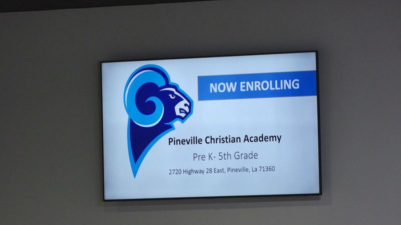 Pineville Christian Academy is coming soon.